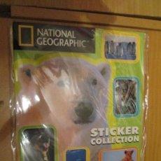 Coleccionismo Álbum: ANIMALES NATIONAL GEOGRAPHIC. Lote 154258802