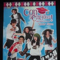 Coleccionismo Álbum: CONSENTIDOS . ALGO BUENO VA A PASAR. PANINI 2011. COMPLETO. CON POSTER CENTRAL. Lote 154407862