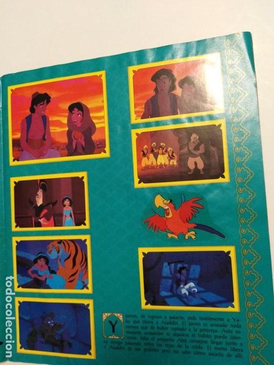 Coleccionismo Álbum: Album Disney Aladin, completo, Panini. - Foto 3 - 154420426