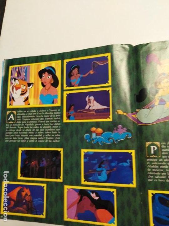 Coleccionismo Álbum: Album Disney Aladin, completo, Panini. - Foto 8 - 154420426