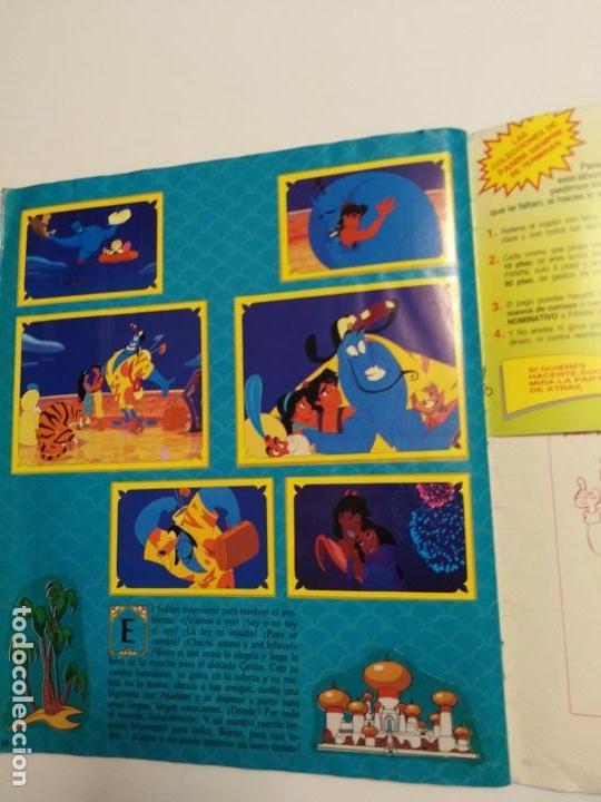 Coleccionismo Álbum: Album Disney Aladin, completo, Panini. - Foto 9 - 154420426