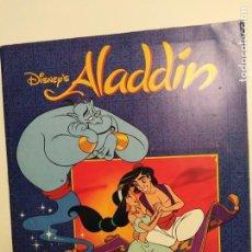 Coleccionismo Álbum: ALBUM DISNEY ALADIN, COMPLETO, PANINI.. Lote 154420426