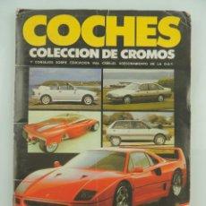 Coleccionismo Álbum: ALBUM DE CROMOS COCHES EDICIONES CUSCO COMPLETO. Lote 154988626