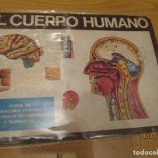 Coleccionismo Álbum: EL CUERPO HUMANO. Lote 155068206