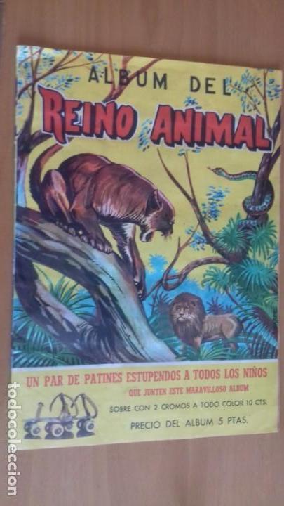 ALBUM DEL REINO ANIMAL EDICIONES COSTA GIGARPE MURCIA COMPLETO EN BUEN ESTADO (Coleccionismo - Cromos y Álbumes - Álbumes Completos)
