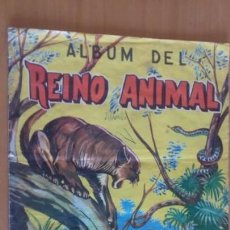 Coleccionismo Álbum: ANTIGUO ALBUM DEL REINO ANIMAL EDICIONES COSTA GIGARPE MURCIA COMPLETO . Lote 163560590