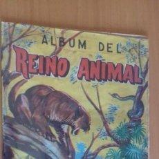 Coleccionismo Álbum: ANTIGUO ALBUM DEL REINO ANIMAL EDICIONES COSTA GIGARPE MURCIA COMPLETO . Lote 155241634