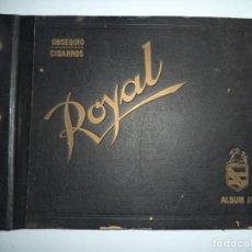 Coleccionismo Álbum: ALBUM COMPLETO. ROYAL. CUBA. SUCESOS ANTES DE LA REVOLUCION. VER FOTOS. PERFECTO ESTADO.. Lote 155245102