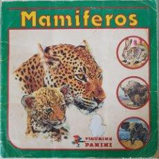Coleccionismo Álbum: MAMIFEROS. Lote 155371824