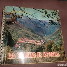 Coleccionismo Álbum: ALBUM LAS BELLEZAS DE ASTURIAS COMPLETO Y BUEN ESTADO. Lote 155466994
