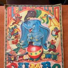 Coleccionismo Álbum: ALBUM COMPLETO DUMBO - ED. FHER - CON POSTER CENTRAL.. Lote 155495542