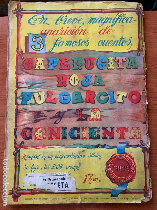Coleccionismo Álbum: ALBUM COMPLETO DUMBO - ED. FHER - CON POSTER CENTRAL. - Foto 2 - 155495542