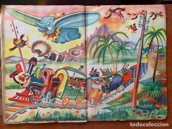Coleccionismo Álbum: ALBUM COMPLETO DUMBO - ED. FHER - CON POSTER CENTRAL. - Foto 4 - 155495542