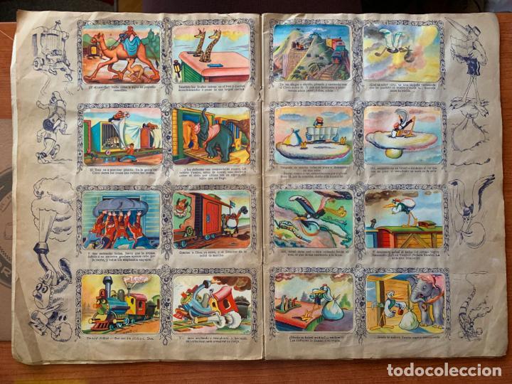 Coleccionismo Álbum: ALBUM COMPLETO DUMBO - ED. FHER - CON POSTER CENTRAL. - Foto 5 - 155495542