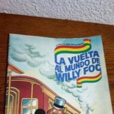 Coleccionismo Álbum: ALBUM LA VUELTA AL MUNDO DE WILLY FOG COMPLETO /DANONE. Lote 155555245