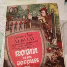 Coleccionismo Álbum: ÀLBUM DE CROMOS COMPLETO ROBIN DE LOS BOSQUES. Lote 155695741
