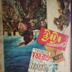 Coleccionismo Álbum: EPISODIOS DE LA SEGUNDA GUERRA MUNDIAL. CHOCOLATAES KIKE. COMPLETO. Lote 155746442