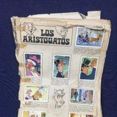 Coleccionismo Álbum: LOS ARISTOGATOS ALBUM DE 210 CROMOS COMPLETO. FHER. 1971 CON POSTER CENTRAL . Lote 155761422