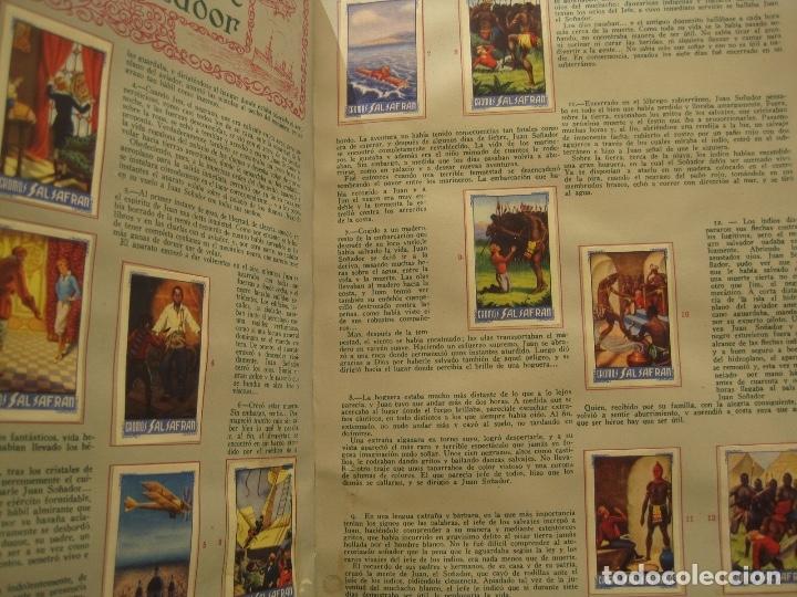 Coleccionismo Álbum: ÁLBUM SALSAFRÁN Nº1.VIUDA DE A.GÓMEZ. 1942,COMPLETO CON 108 CROMOS - Foto 6 - 28723542