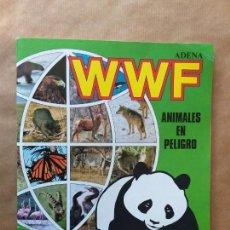 Coleccionismo Álbum: COMPLETO ÁLBUM ANIMALES EN PELIGRO ADENA WWF. 1988. Lote 156688850