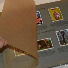 Coleccionismo Álbum: ÁLBUM 3 DE CROMOS - COMPLETO - ALEMÁN - DIE WELT IN BILDERN - AÑOS 20 / 30 -- ¡MIRA TODAS LAS FOTOS!. Lote 156906242