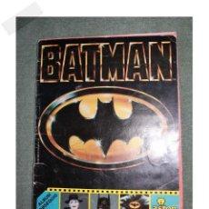 Coleccionismo Álbum: ALBUM BATMAN 1989 ASTON DE EDICIONES COMPLETO VER FOTOS PARA ESTADO. Lote 157126042