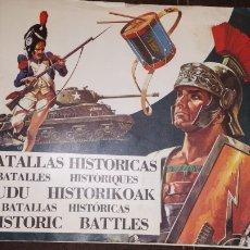 Coleccionismo Álbum: ÁLBUM BATALLAS HISTÓRICAS COMPLETO VER FOTOS. Lote 157127322