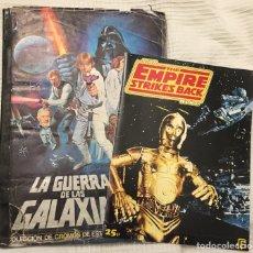 Coleccionismo Álbum: ALBUM STAR WARS LA GUERRA DE LAS GALAXIAS PACOSA 2 1977.COMPLETO + REGALO. Lote 157135133