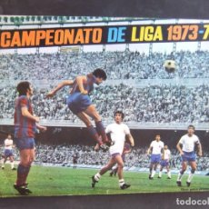 Coleccionismo Álbum: CAMPEONATO DE LIGA 1973-74 COMPLETO DISGRA. Lote 157212166