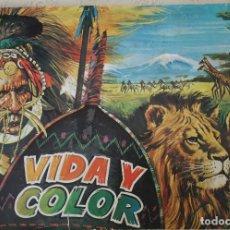 Collectionnisme Album: VIDA Y COLOR 3 - COMPLETO. Lote 157726118
