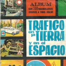 Coleccionismo Álbum: TRAFICO EN LA TIERRA Y EL ESPACIO - COMPLETO. Lote 157731726