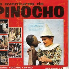 Coleccionismo Álbum: LAS AVENTURAS DE PINOCHO - COMPLETO. Lote 157732654