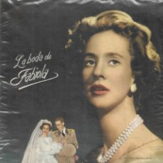 Coleccionismo Álbum: LA BODA DE FABIOLA - COMPLETO. Lote 157734494