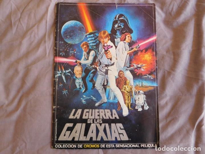 Coleccionismo Álbum: Lote de 3 albums de la guerra de las galaxias. Originales, completos y en buen estado . Star Wars - Foto 2 - 37693037