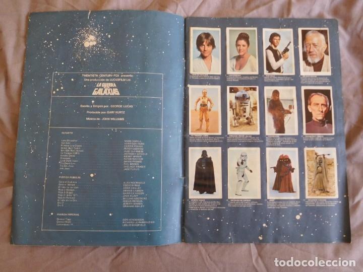 Coleccionismo Álbum: Lote de 3 albums de la guerra de las galaxias. Originales, completos y en buen estado . Star Wars - Foto 3 - 37693037