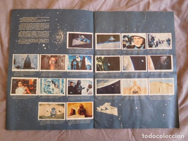 Coleccionismo Álbum: Lote de 3 albums de la guerra de las galaxias. Originales, completos y en buen estado . Star Wars - Foto 4 - 37693037