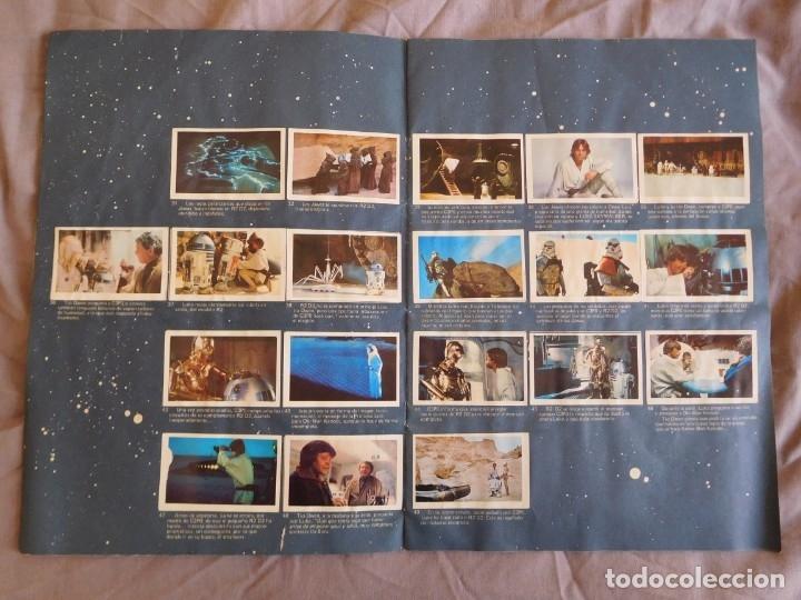 Coleccionismo Álbum: Lote de 3 albums de la guerra de las galaxias. Originales, completos y en buen estado . Star Wars - Foto 5 - 37693037