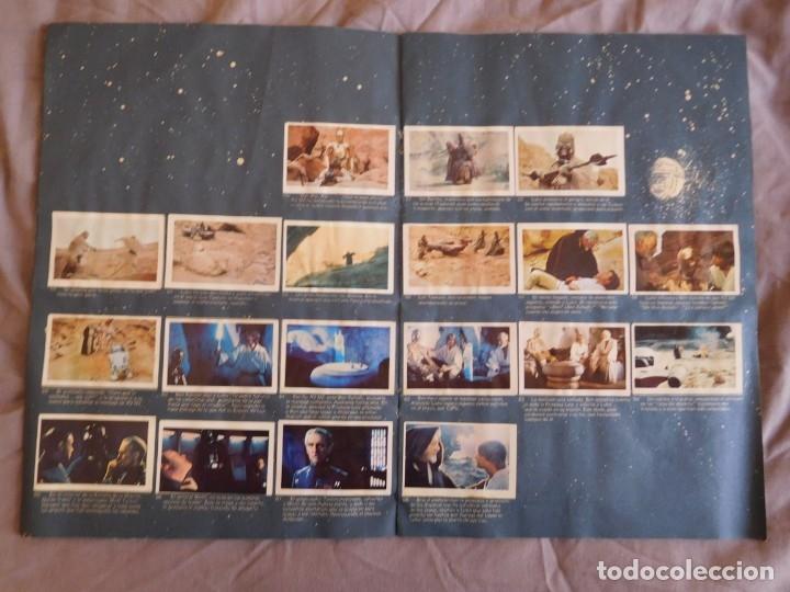 Coleccionismo Álbum: Lote de 3 albums de la guerra de las galaxias. Originales, completos y en buen estado . Star Wars - Foto 6 - 37693037
