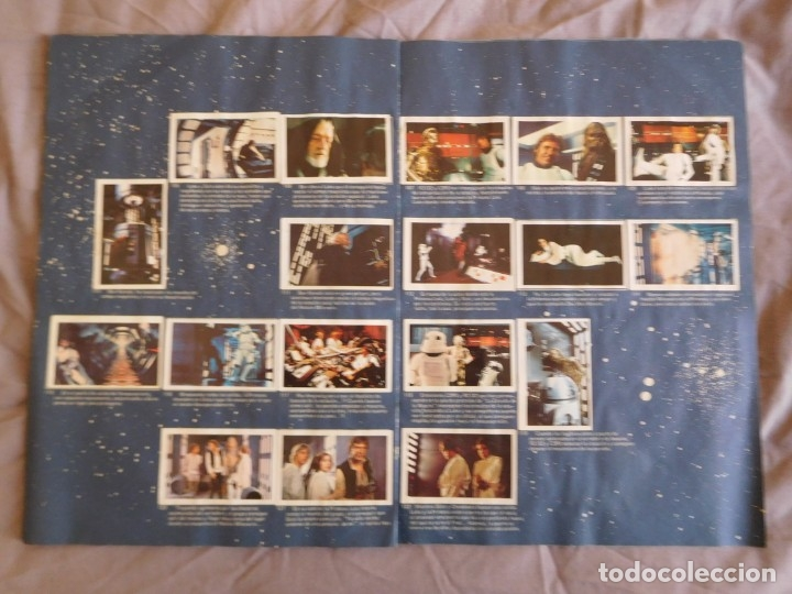Coleccionismo Álbum: Lote de 3 albums de la guerra de las galaxias. Originales, completos y en buen estado . Star Wars - Foto 9 - 37693037