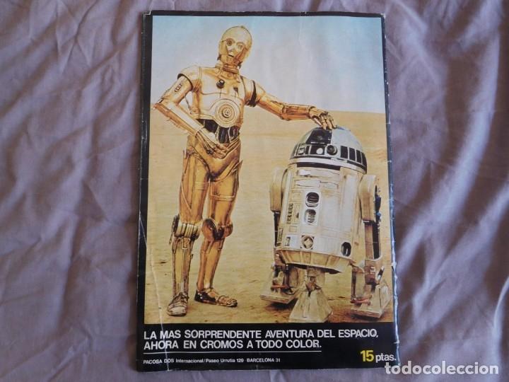 Coleccionismo Álbum: Lote de 3 albums de la guerra de las galaxias. Originales, completos y en buen estado . Star Wars - Foto 14 - 37693037