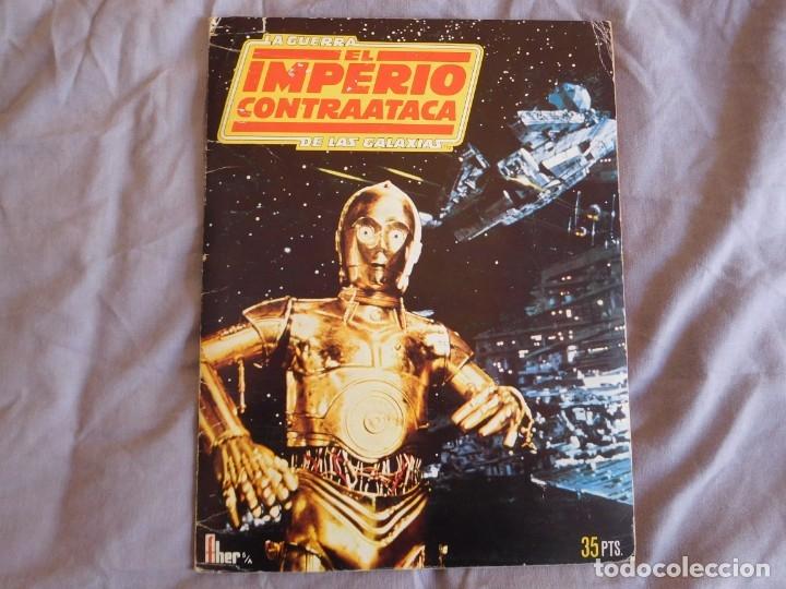 Coleccionismo Álbum: Lote de 3 albums de la guerra de las galaxias. Originales, completos y en buen estado . Star Wars - Foto 15 - 37693037