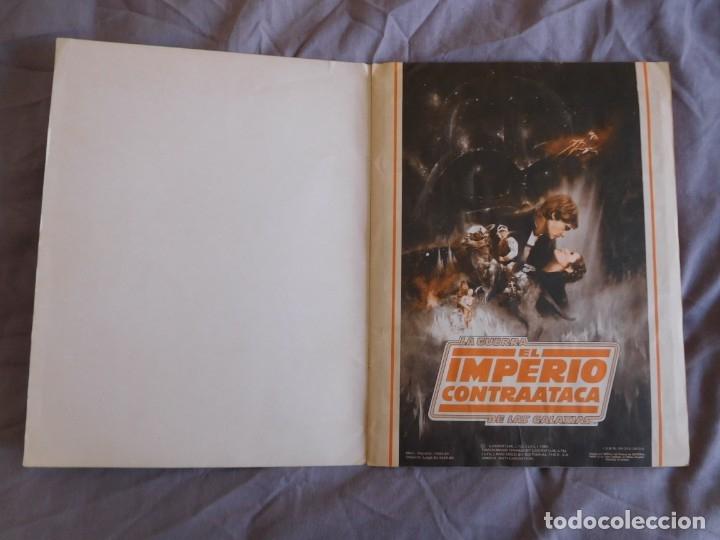 Coleccionismo Álbum: Lote de 3 albums de la guerra de las galaxias. Originales, completos y en buen estado . Star Wars - Foto 16 - 37693037