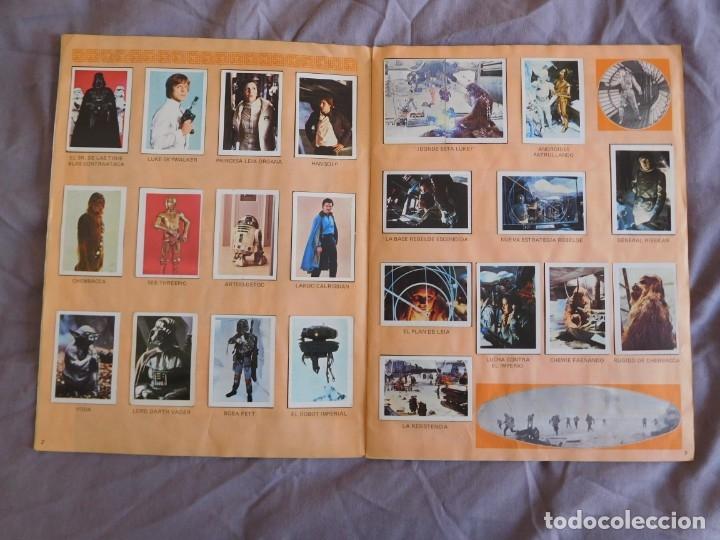 Coleccionismo Álbum: Lote de 3 albums de la guerra de las galaxias. Originales, completos y en buen estado . Star Wars - Foto 17 - 37693037