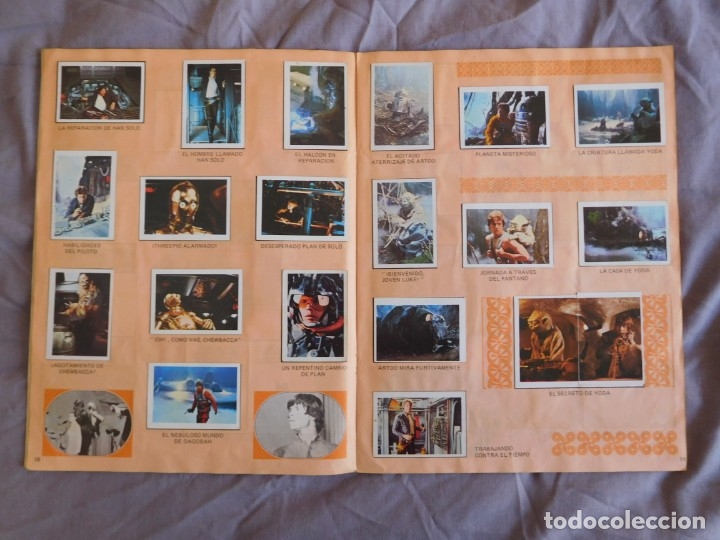 Coleccionismo Álbum: Lote de 3 albums de la guerra de las galaxias. Originales, completos y en buen estado . Star Wars - Foto 21 - 37693037