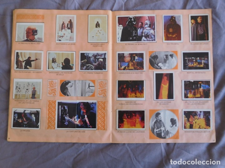 Coleccionismo Álbum: Lote de 3 albums de la guerra de las galaxias. Originales, completos y en buen estado . Star Wars - Foto 24 - 37693037