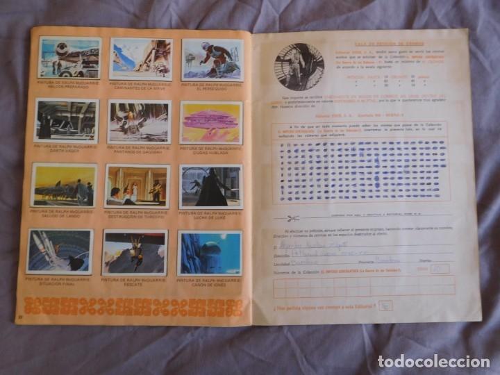 Coleccionismo Álbum: Lote de 3 albums de la guerra de las galaxias. Originales, completos y en buen estado . Star Wars - Foto 27 - 37693037