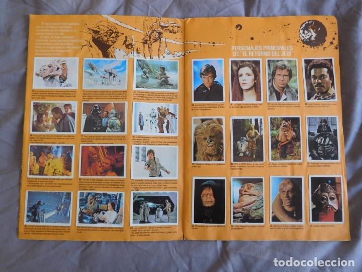 Coleccionismo Álbum: Lote de 3 albums de la guerra de las galaxias. Originales, completos y en buen estado . Star Wars - Foto 31 - 37693037