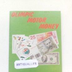 Coleccionismo Álbum: ALBUM DE CROMOS COMPLETO OLIMPIC MOTOR MONEY TELEKITOS -SIMIL EDICIONES ESTE,PANINI,CANO,MUNDICROM.. Lote 157837342