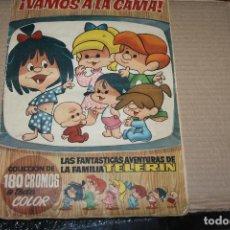 Coleccionismo Álbum: VAMOS A LA CAMA ALBUM DE CROMOS COMPLETO, EDITORIAL BRUGUERA. Lote 157898006