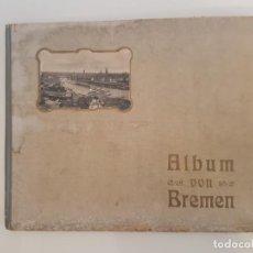 Coleccionismo Álbum: ALBUM IMAGENES IMPRESAS VON BREMEN 1904. Lote 157903978